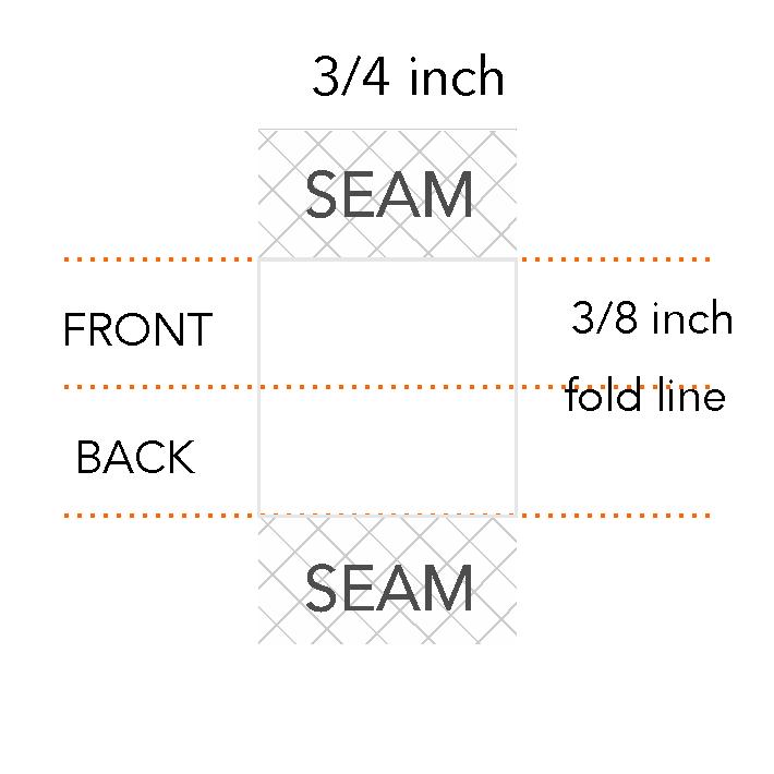 3/8 x 3/4 inch