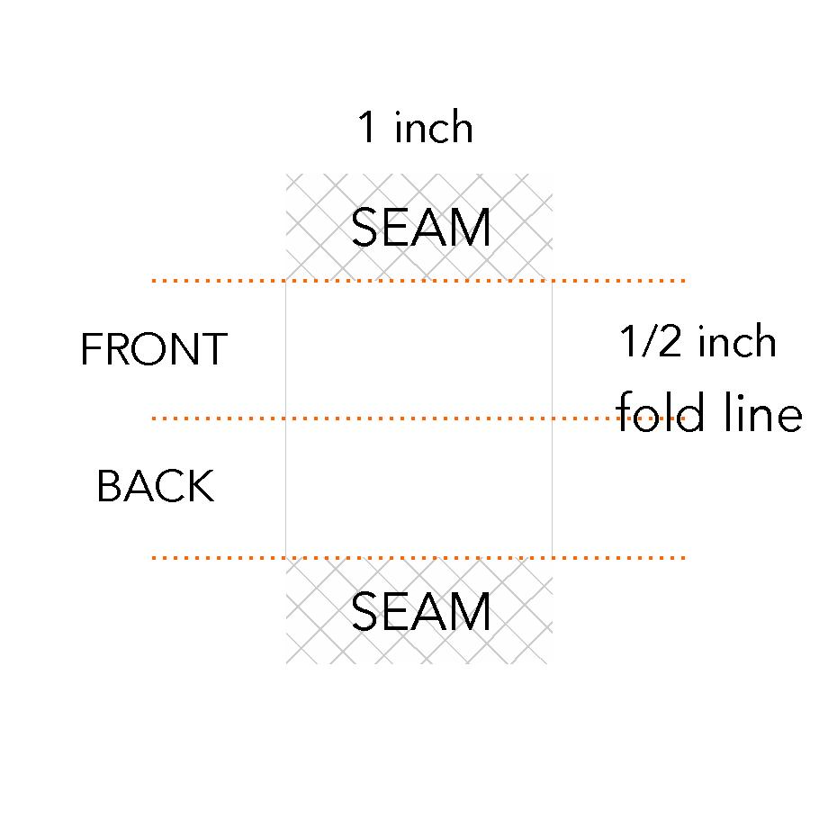 1/2 x 1 inch