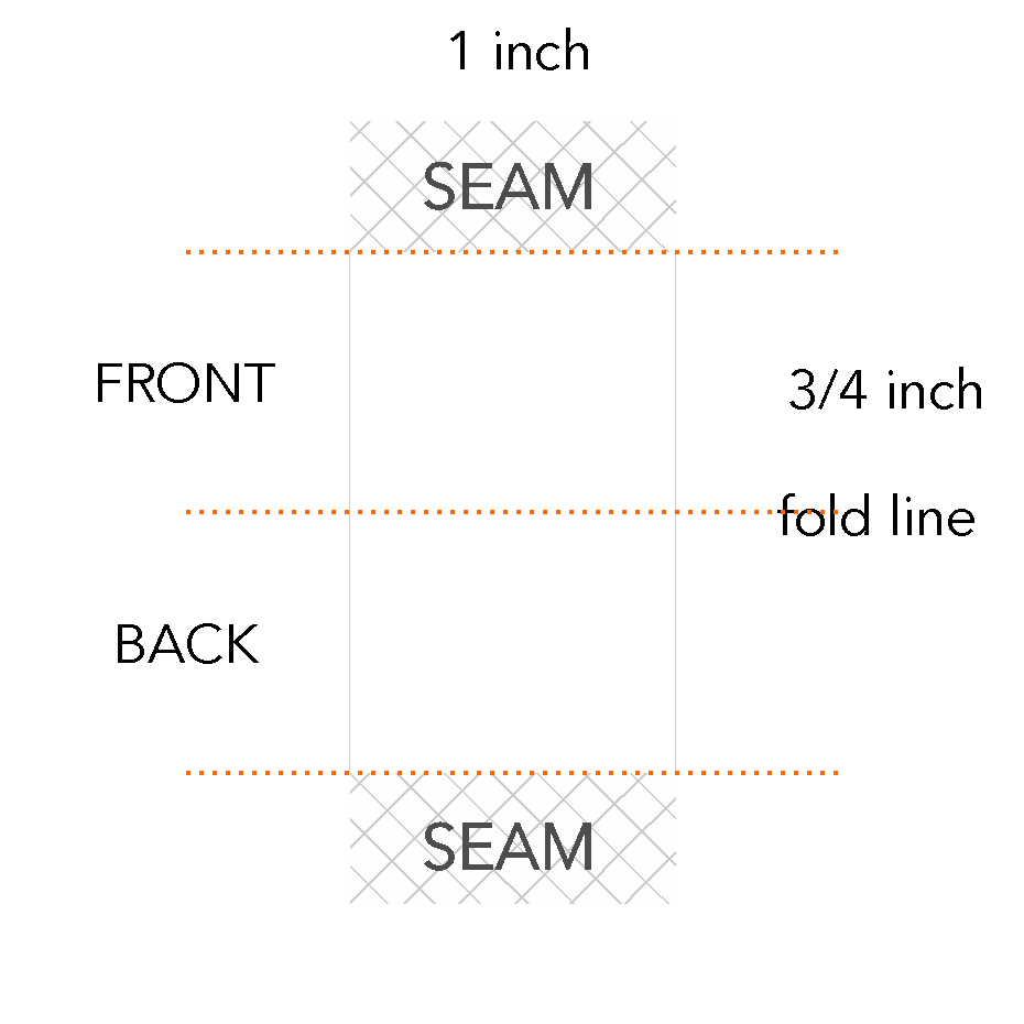 3/4 x 1 inch
