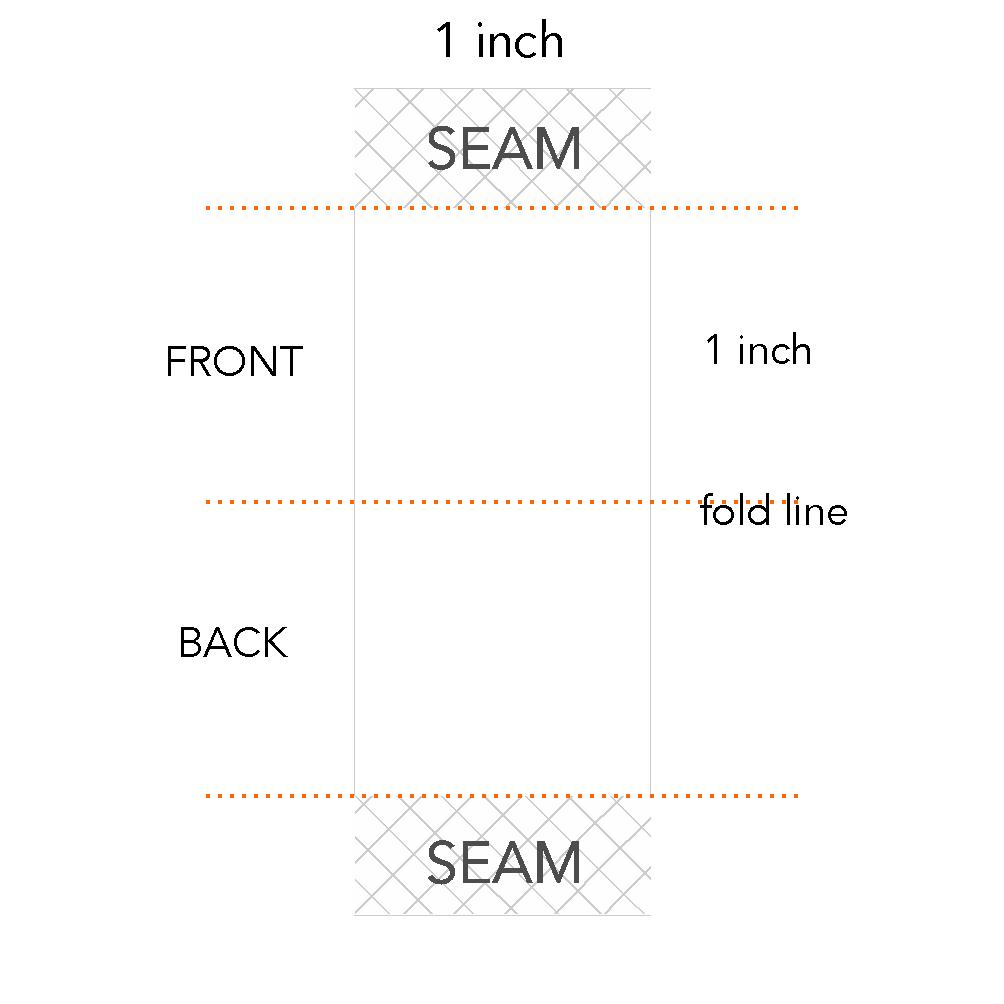 1 x 1 inch