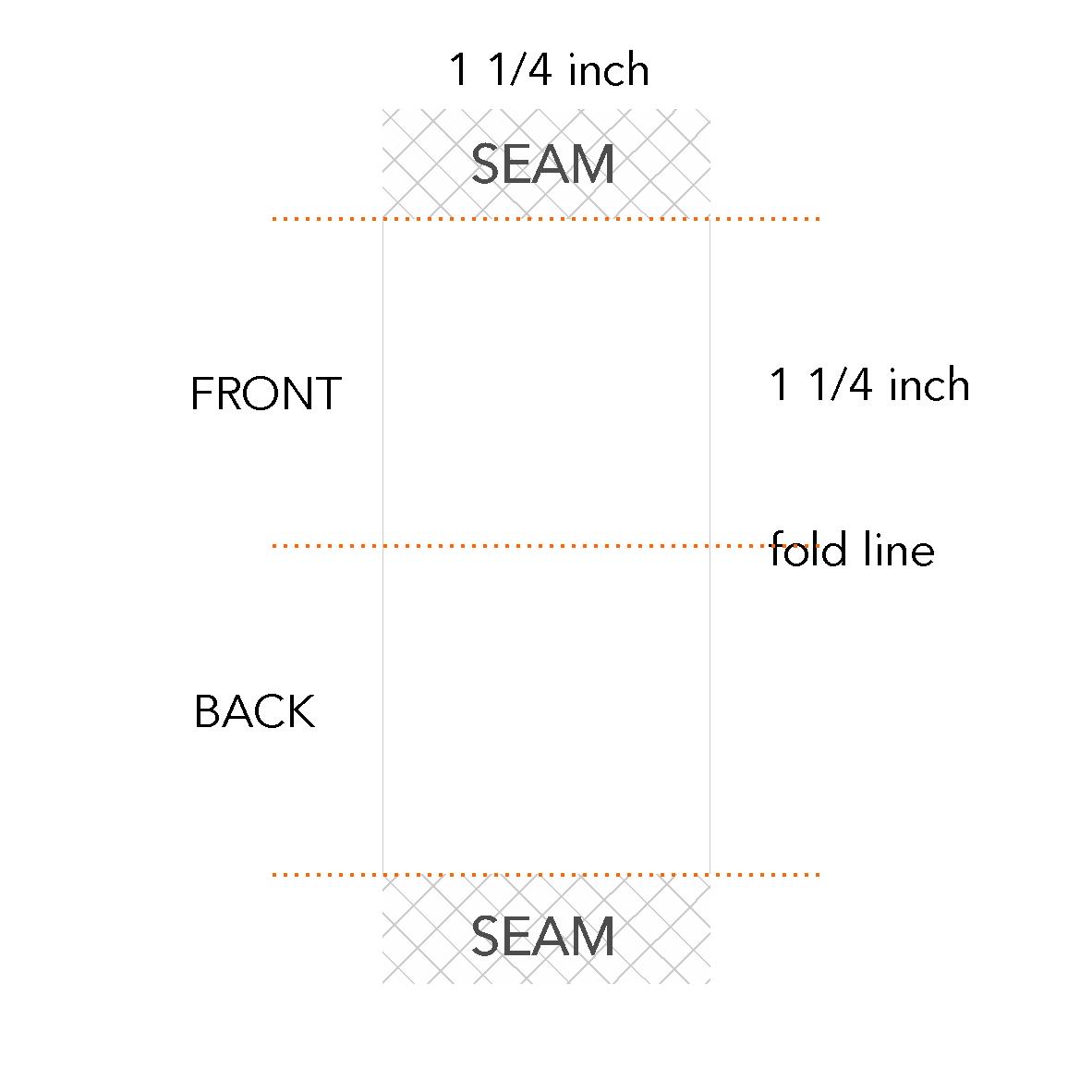 1 1/4 x 1 1/4 inch