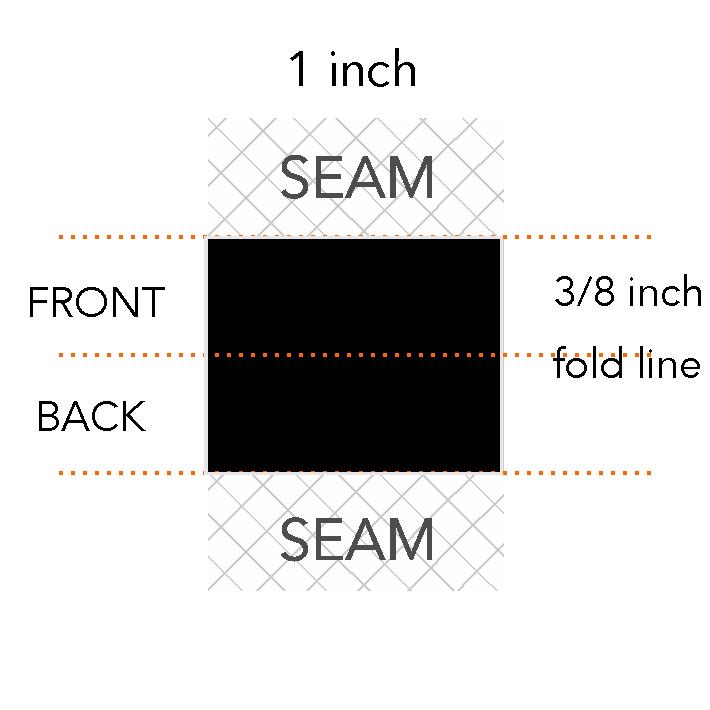 3/8 x 1 inch