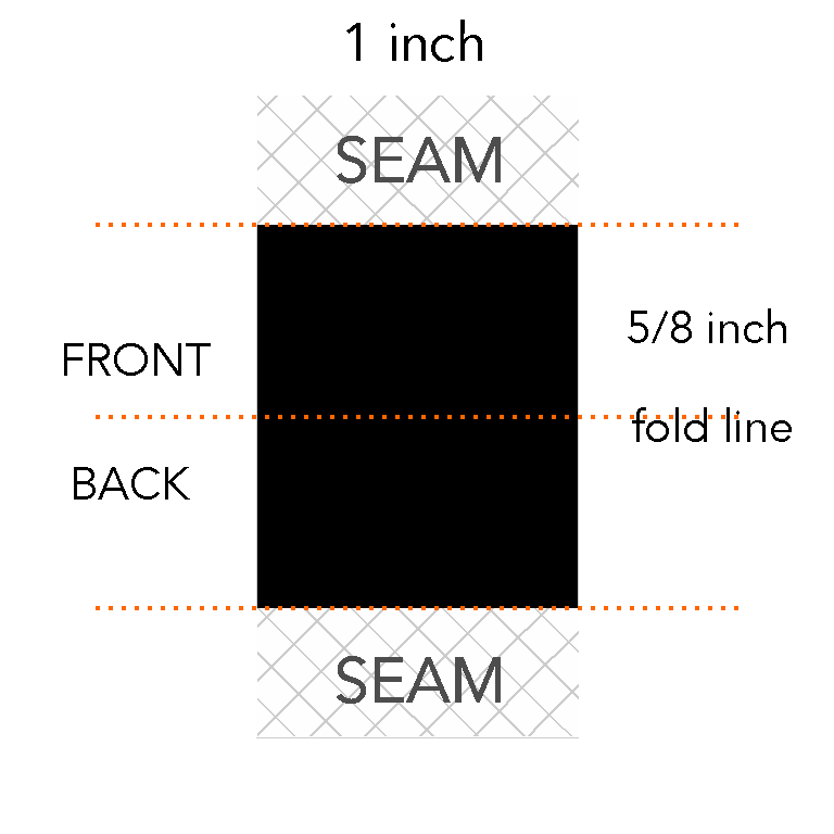 5/8 x 1 inch