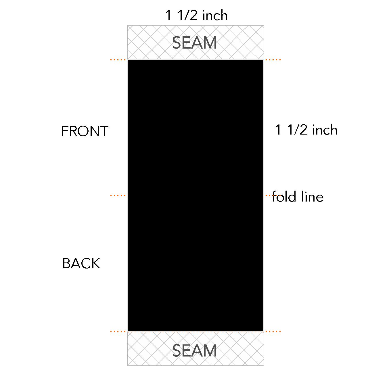 1 1/2 x 1 1/2 inch