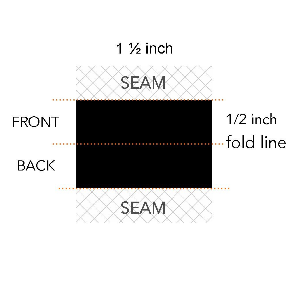 1/2 x 1 1/2 inch