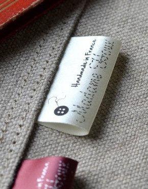 Custom Clothing Labels Green